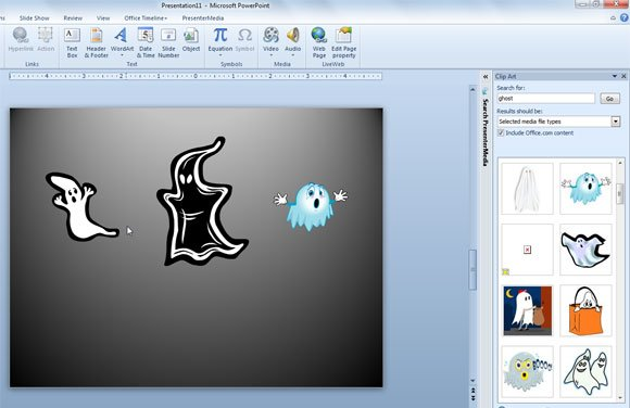 Ghost Halloween template powerpoint