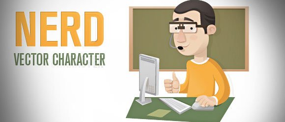 Make geek presentations in powerpoint with vector characters toneelgroepblik Choice Image