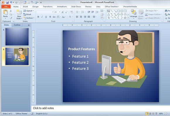 Make geek presentations in powerpoint with vector characters then you can decorate your slide or change the ppt layout to match your slide needs toneelgroepblik Choice Image
