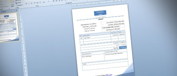 Free Invoice PowerPoint Templates