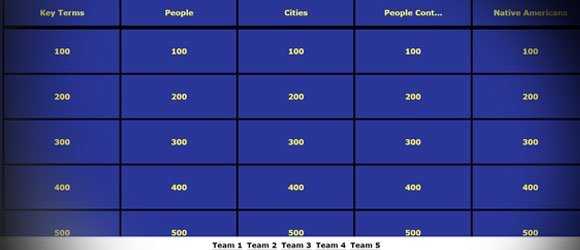 Jeopardy Templates Online