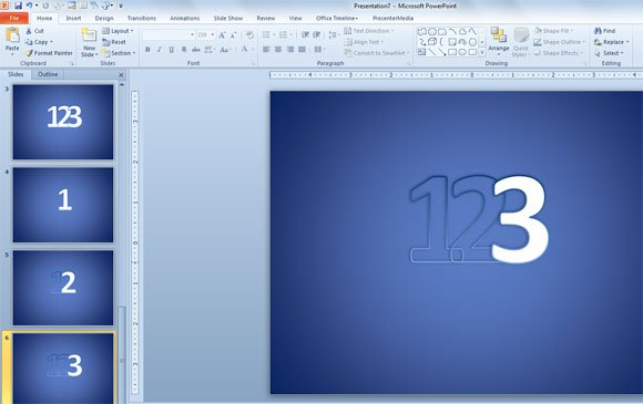 how to make a footnote number in powerpoint