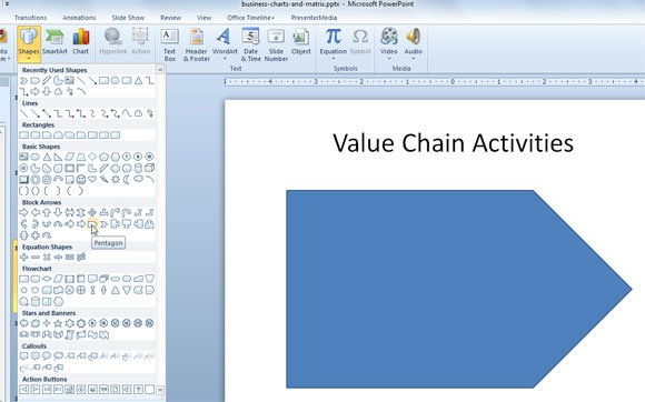 how to use colour swatches in powerpoint in word