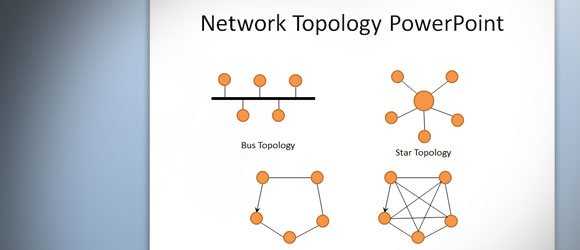 how to design a network topology in powerpoint using shapes, Powerpoint templates