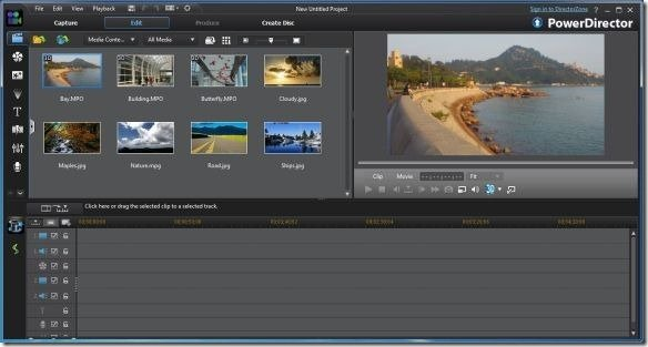 Cyberlink power director video editing tool with revolutionary features full feature editor maxwellsz