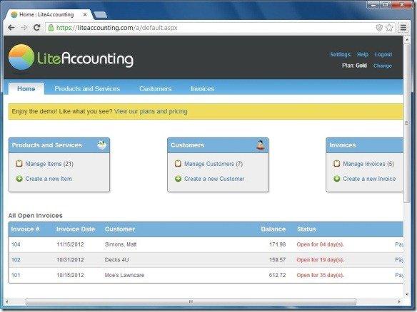 LiteAccountingDashboardjpg FPPT - Accounting dashboard template
