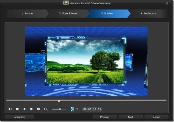 cyberlink powerdirector slideshow templates - cyberlink power director video editing tool with
