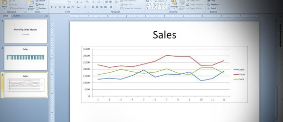 Dynamically Insert Charts & Tables in Excel 2010 with PowerPoint