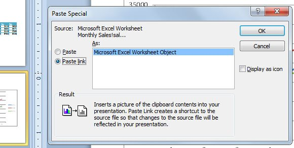 Microsoft excel worksheet object we have seen how to use this kind of objects when we wrote about how to insert tables and charts from excel into powerpoint 2010 so the chart and table data ccuart Choice Image