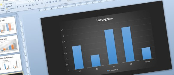 How to Make Histograms for PowerPoint using Excel