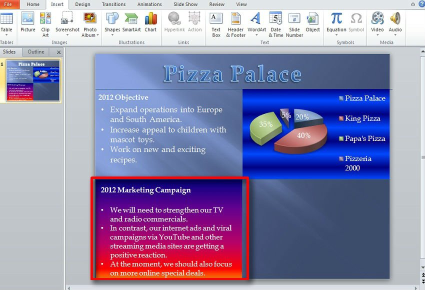 How to make an impressive quad chart in powerpoint 2010 toneelgroepblik Gallery