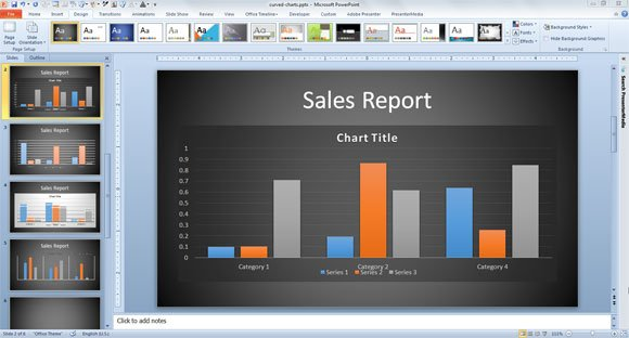 Innovative business graph ideas in powerpoint friedricerecipe Images