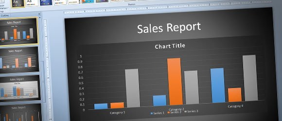 Modernize your PowerPoint 2010 Charts Using the New PowerPoint 2013 Templates