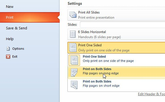 Print your Slides and Handouts in PowerPoint 2010