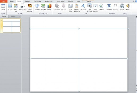 how to make an impressive quad chart in powerpoint 2010, Modern powerpoint