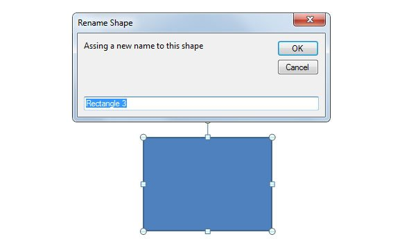 rename shapes ppt