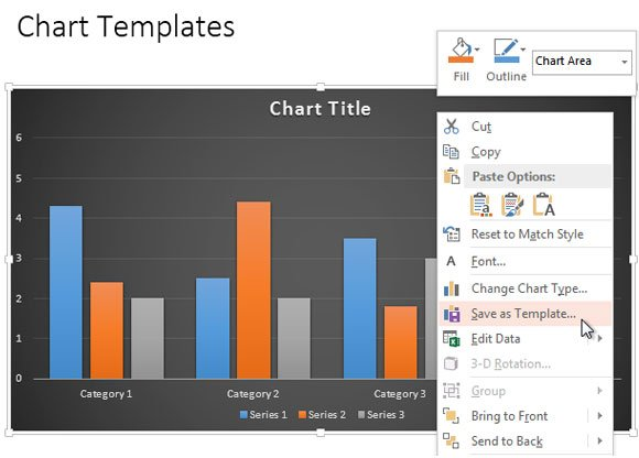 Modernize your powerpoint 2010 charts using the new powerpoint 2013 then go to powerpoint 2010 and click on the chart where you want to apply the new styles choose the chart design tab on top and then click change chart toneelgroepblik Choice Image