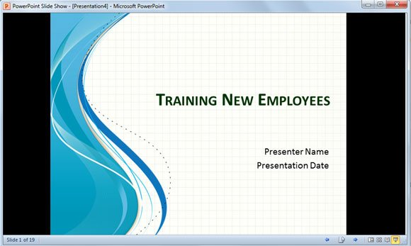 setup slideshow powerpoint ppt