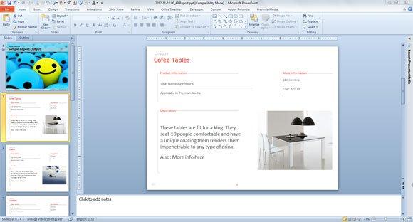 excel spreadsheet powerpoint