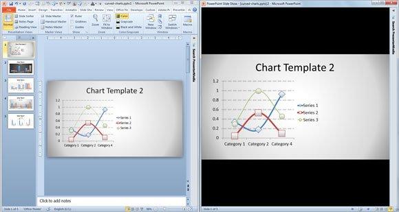 window powerpoint template
