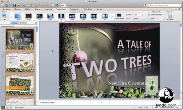 Animating Your Presentations
