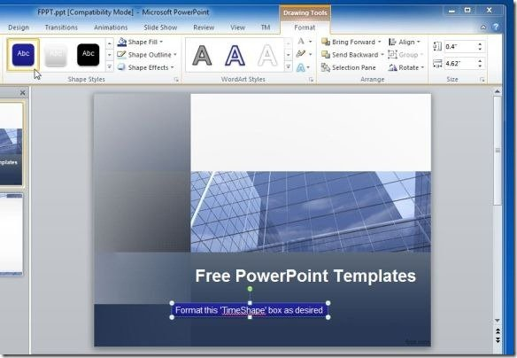add countdown timer in powerpoint presentations with tm timer
