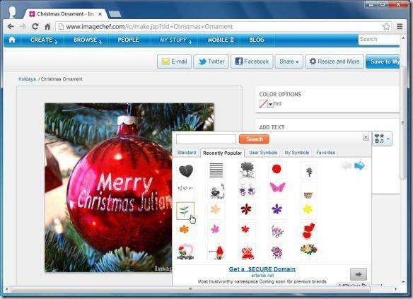 Create Custom Christmas Cards Using Templates With ImageChef