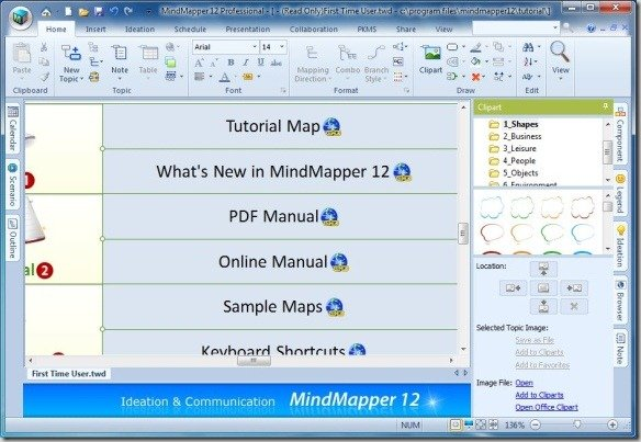 MindMapper Tutorial