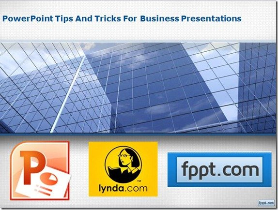 powerpoint tips and tricks for business presentations training course
