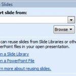Reuse slide