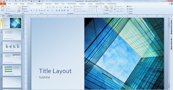 Free glass cube marketing powerpoint 2013 template toneelgroepblik Gallery