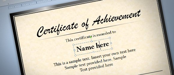 Free diploma certificate template for microsoft powerpoint 2010 2013 yelopaper Image collections