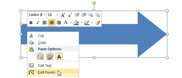 Circular Arrow in PowerPoint