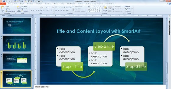 Template for scientific presentations and academic projects powerpoint content layout example toneelgroepblik Images
