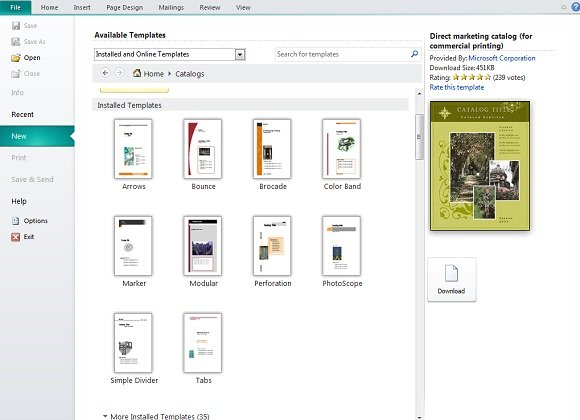 creating and publishing catalogs for your business using microsoft publisher