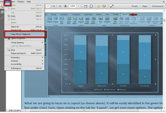 how to open pdf in powerpoint