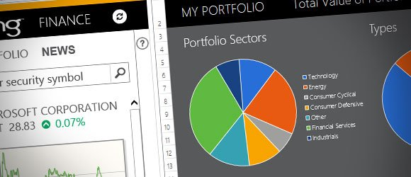 Financial Portfolio Template For Excel 2013