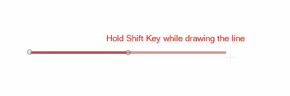 Drawing Lines Using Arrow Keys Java : How to insert an horizontal line in powerpoint using shapes