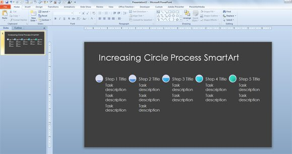 Circle process timeline template for microsoft powerpoint 2013 increasing circle process timeline template for microsoft powerpoint 2013 toneelgroepblik