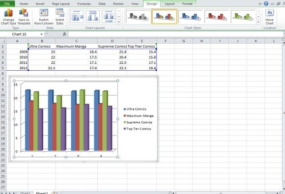 Make a chart in powerpoint and excel excel graph ccuart Gallery