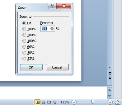 How to Zoom In and Out in PowerPoint 2010