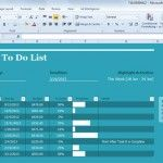 project task list template for excel 2013