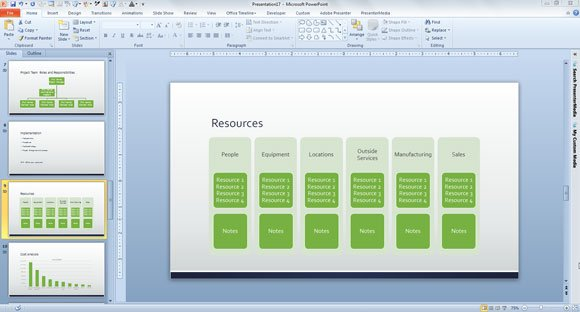 Free Business Plan Template For PowerPoint - Business planning templates free