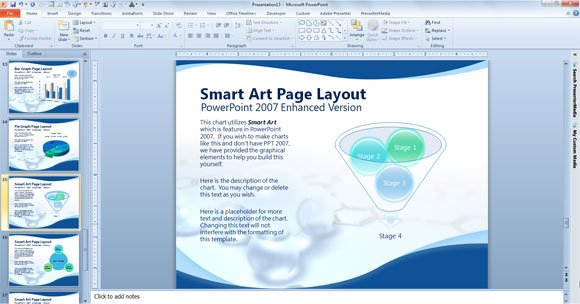 Free scientific powerpoint template bubbles scientific powerpoint template toneelgroepblik Gallery