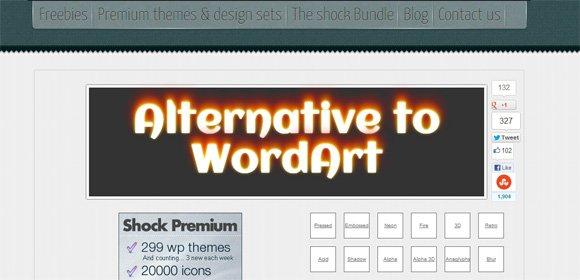 Simple alternative to wordart using css3 toneelgroepblik Gallery