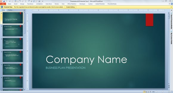 Business Consulting Template For PowerPoint 2013