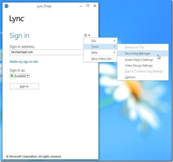 Login-to-Lync-2013 jpg - FPPT