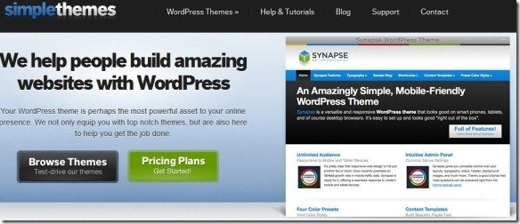 Download High Quality WordPress Themes At Simple Themes