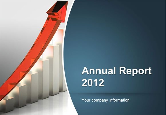 how to make an annual report using powerpoint templates. Black Bedroom Furniture Sets. Home Design Ideas