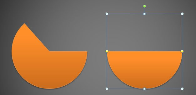 Drawing a Half Circle in PowerPoint 2010